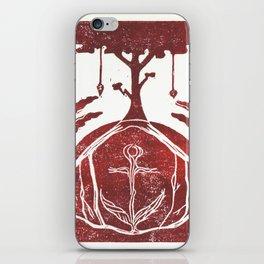 Grounding (White) iPhone Skin