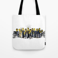 Sons Of Anarchy cast Tote Bag