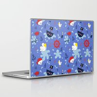 pirates Laptop & iPad Skins featuring Pirates by lindsey salles