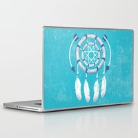 dreamcatcher Laptop & iPad Skins featuring Dreamcatcher  by DCWing
