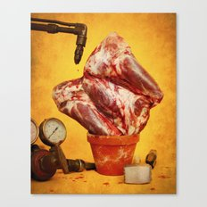 Foodscapes II: Growing meat Canvas Print