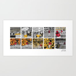 Pittsburgh Goes Crazy - 2013 NL Wild Card Art Print