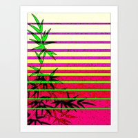 bamboo Art Prints featuring Bamboo by Mr and Mrs Quirynen