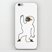 eat iPhone & iPod Skins featuring Eat Eat Eat by Jarvis Glasses