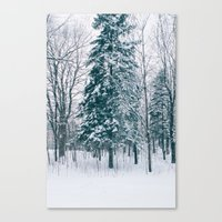 xmas Canvas Prints featuring Xmas by Ali Inay