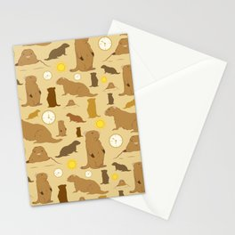 Groundhogs Stationery Cards
