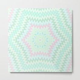 Ethnic geometric ornament 4 Metal Print