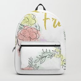 Friday fresh collection golden Backpack