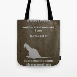 art of underwear Tote Bag