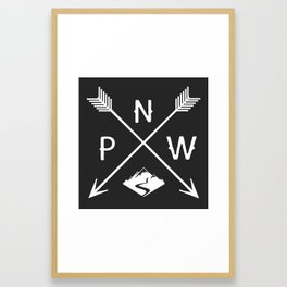 Pacific North West, Seattle Washington Framed Art Print