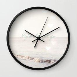 My heart belongs to you Wall Clock