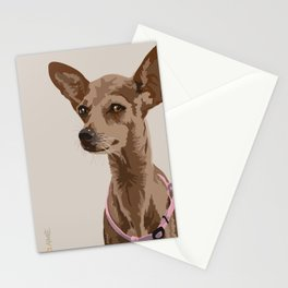Macy the Chihuahua Dog Stationery Cards