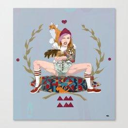 Anna Amam Canvas Print