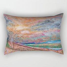 Beyond the Veil Rectangular Pillow