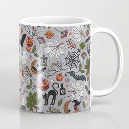 Embroidered halloween Coffee Mug