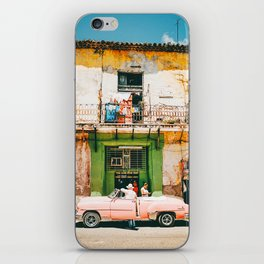 Summer in Cuba iPhone Skin