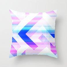 Cosmic Overtones Throw Pillow