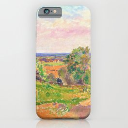 Spencer Gore - An Extensive Landscape in Yorkshire - Digital Remastered Edition iPhone Case