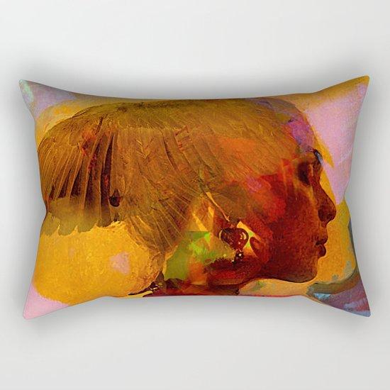 Eternal goddess Rectangular Pillow