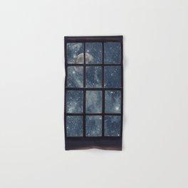 Space view Window-Moon shine Hand & Bath Towel