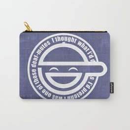 LaughingMan Carry-All Pouch