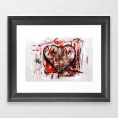 Herzlichkeit Framed Art Print