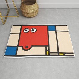 Ooh Zoo – art-series, Mondrian Rug