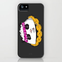 Panda Bandana iPhone Case