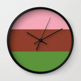 Gynesexual Flag Wall Clock