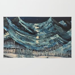 Moonlit Mountains Rug