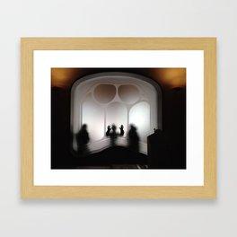 gost Framed Art Print