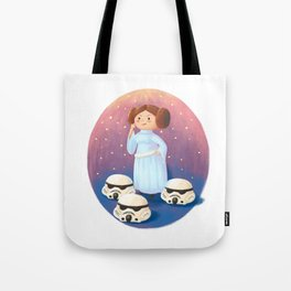 Not a Damsel in Distress Tote Bag
