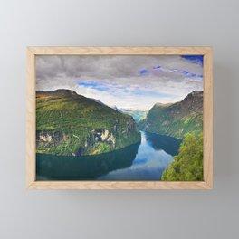 Ornevegen View Framed Mini Art Print