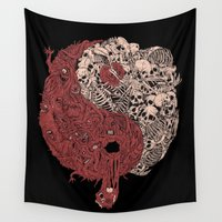gore Wall Tapestries featuring YY by Teenn