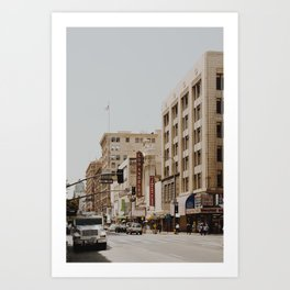 Downtown Los Angeles IV Art Print