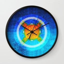 Loving, joyful, and free Wall Clock