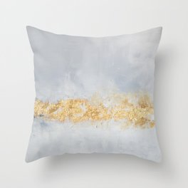 Champagne Scapes Throw Pillow