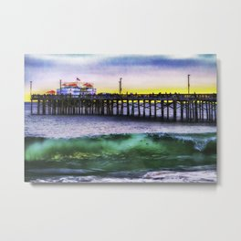 Balboa Pier Metal Print