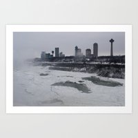 Entropy: Cold City Art Print