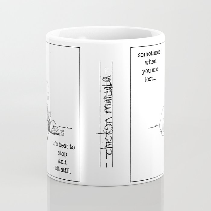 when you are lost Coffee Mug