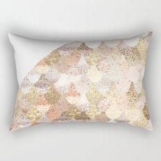 MERMAID GOLD Rectangular Pillow