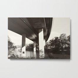 Bridge 97 Metal Print