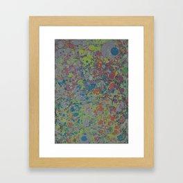 Marble Print #37 Framed Art Print