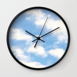 santabarbarasky Wall Clock