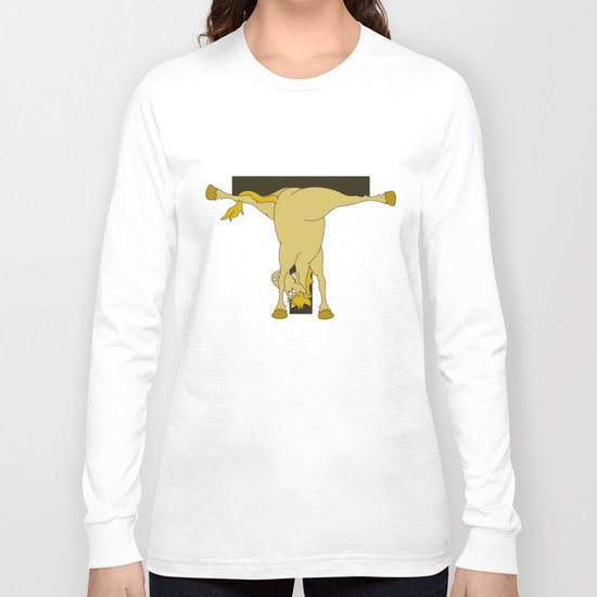 Monogram T Pony Long Sleeve T-shirt