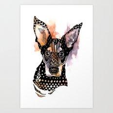 Lexy Art Print