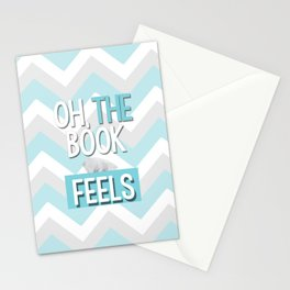Oh, the book feels! Stationery Cards