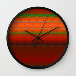PaintedDesert 01 Wall Clock