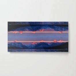 Laserscape Metal Print