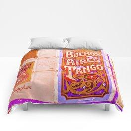 Tango Buenos Aires, Argentina. Comforters